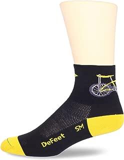 product image for DEFEET Men's Aerator Banana Bike Sock