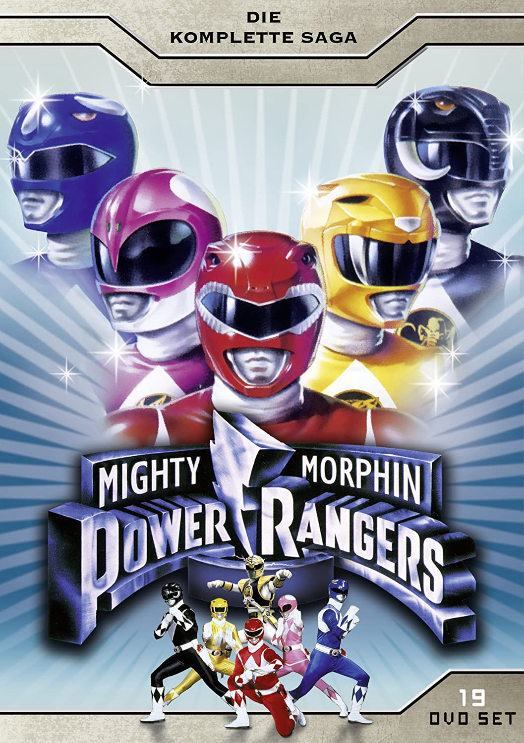 Mighty Morphin Power Rangers - Die komplette Saga 19 DVDs Alemania: Amazon.es: Austin St. John, Thuy Trang, Walter Jones, Jeffrey Reiner: Cine y Series TV