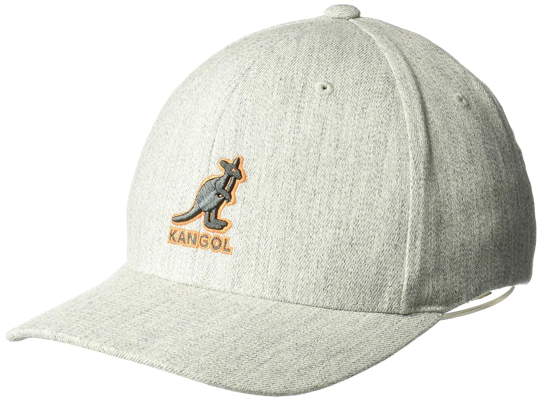 Kangol Mens Standard 3D Wool Flexfit Baseball Cap 5128BC