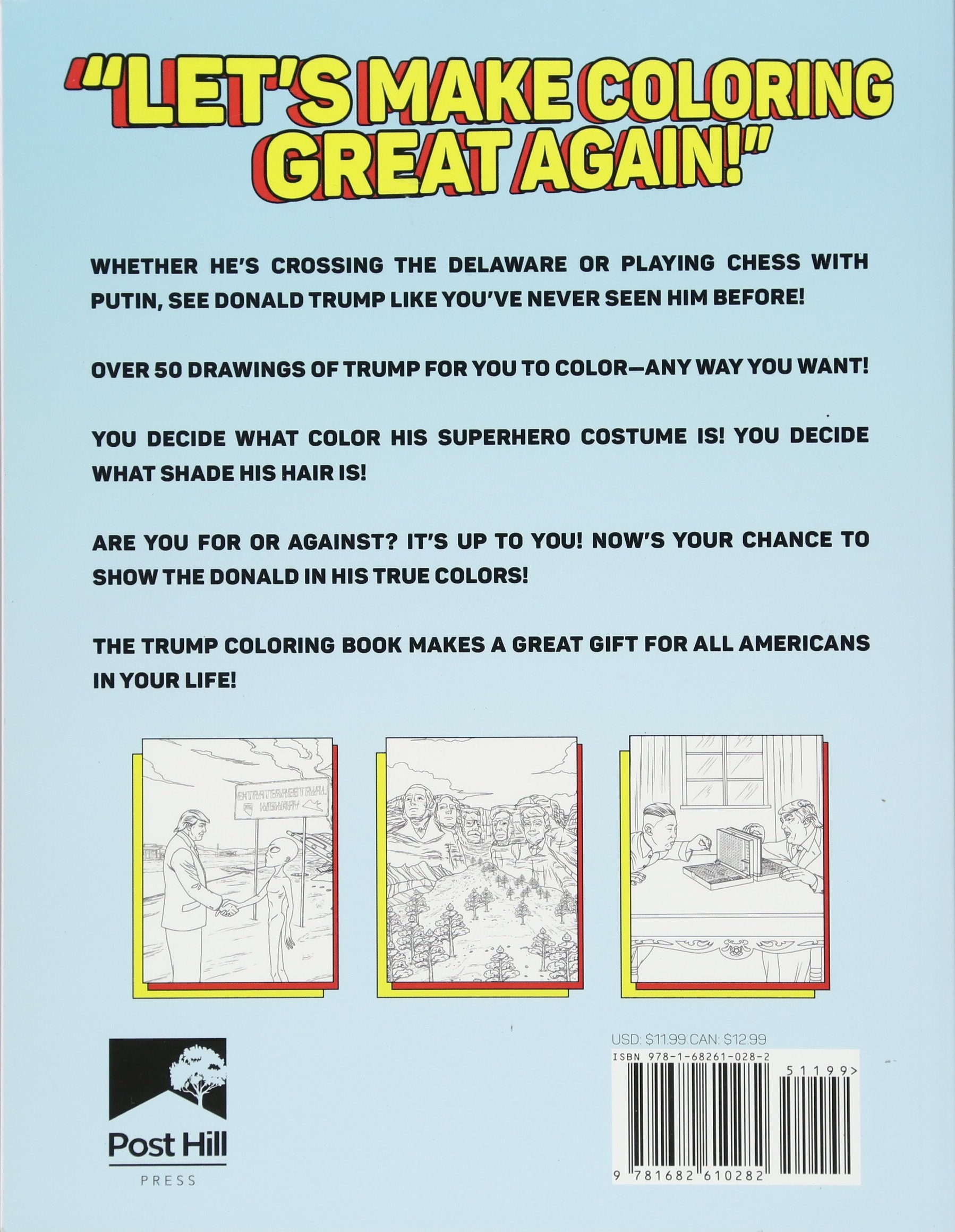 Amazon.com: The Trump Coloring Book (9781682610282): M. G. Anthony ...