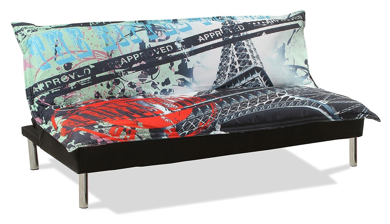 Para sofá-cama, diseño de la Torre Eiffel: Amazon.es ...