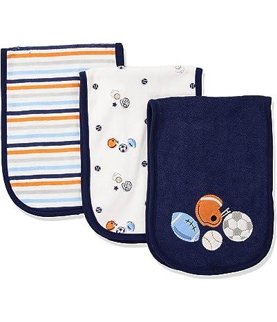 Gerber Baby Boys' 3-Pack Terry Burp Cloth