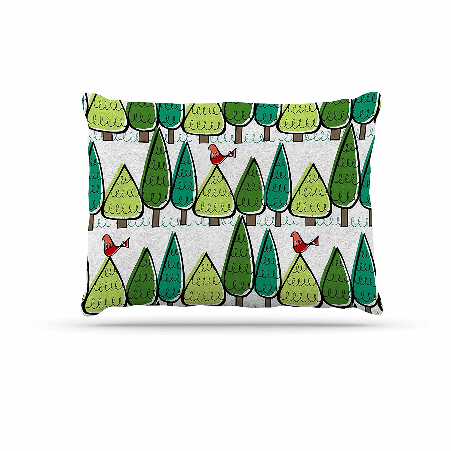KESS InHouse Holly Helgeson Vintage Christmas Holiday Pattern Dog Bed, 30  x 40