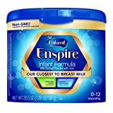 Amazon Price History for:Enfamil Enspire Powdered Baby Formula Tub, 20.5 Ounce