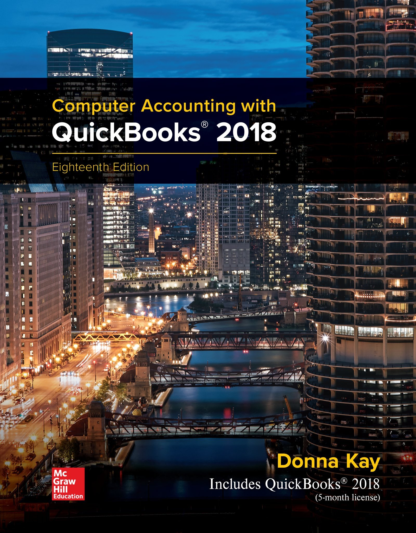 MP Computer Accounting with QuickBooks 2018 by McGraw-Hill Education