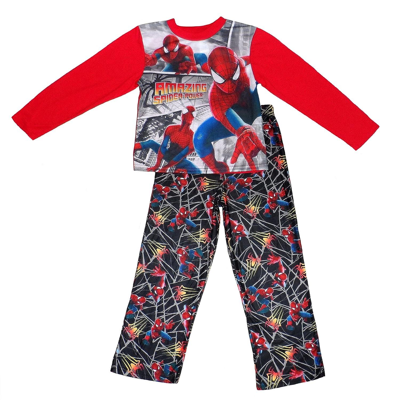 The Amazing Spider-Man 2-Piece Pajama Set Big Boys