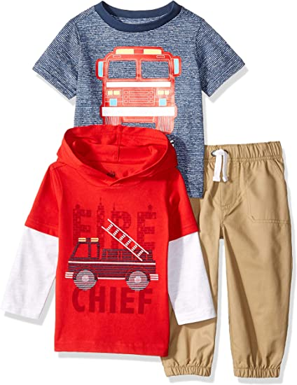 Kids Headquarters Boys 3 Pieces Pants Set