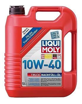 Liqui Moly 4606 Camión de carga de aceite 10W-40, 5 L ...