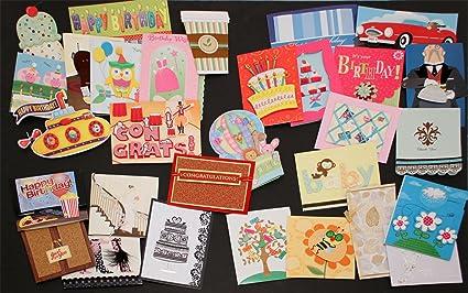 Amazon 30 handmade all occasion greeting card assortment with 30 handmade all occasion greeting card assortment with decorative reusable organizer box m4hsunfo