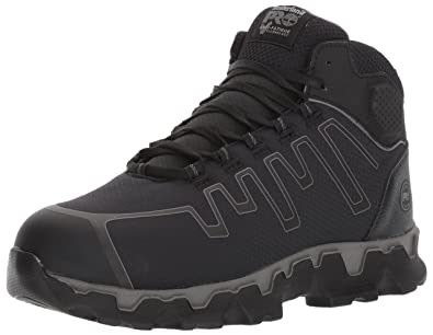 f669fe07c6a Timberland PRO Men s Powertrain Sport Mid Alloy Toe EH Industrial   Construction  Shoe