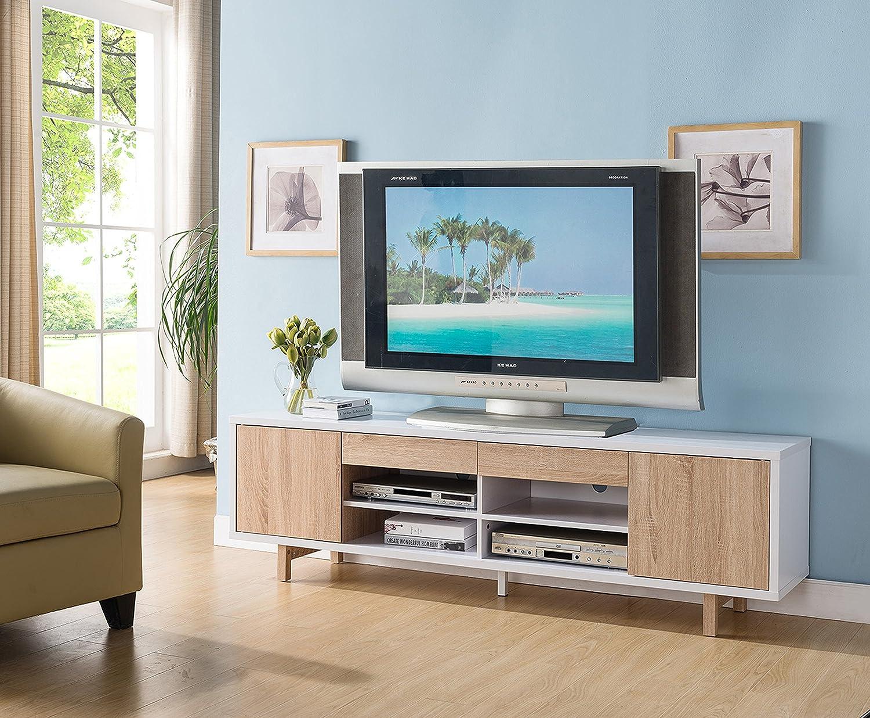Amazon.com: 151360 White & Weathered White Smart Home 70\