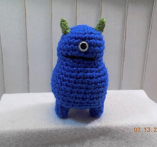 Amazon Monster Plush Crochet Monster Goofy Monster