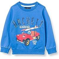 Hackett London Car Logo Crew B suéter para Niños