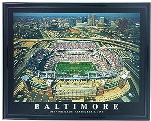 Football Baltimore Ravens M&T Bank Stadium Opening Day Print Artwork Framed F57502A