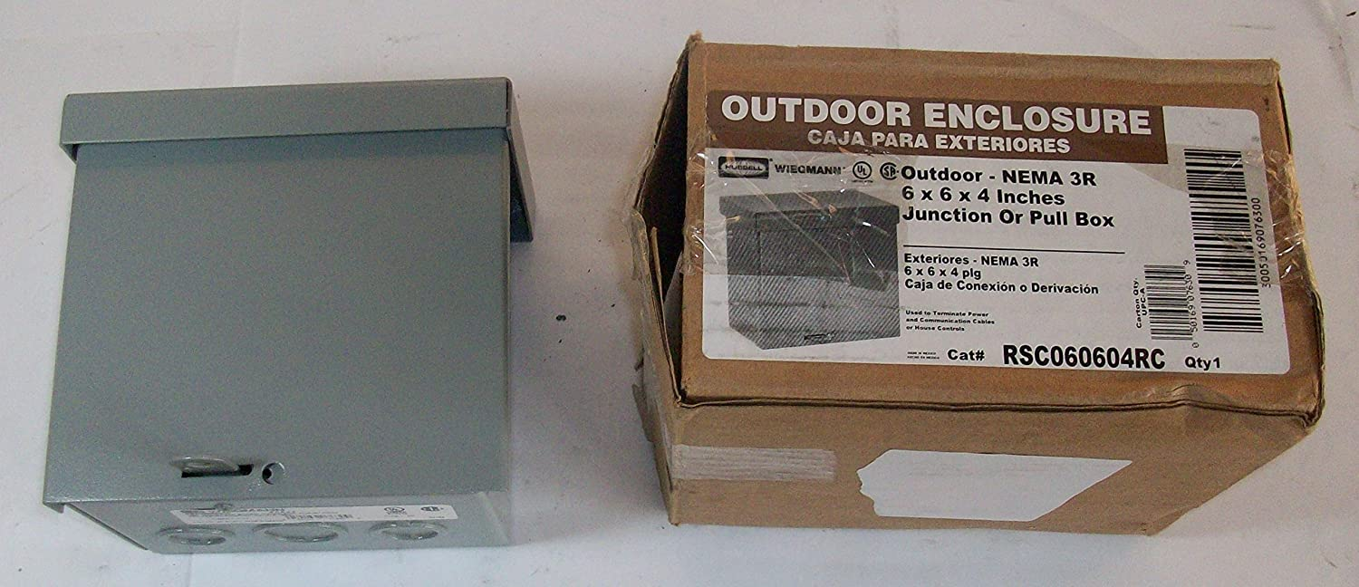 Raco Screw Cover Box Rainproof 6