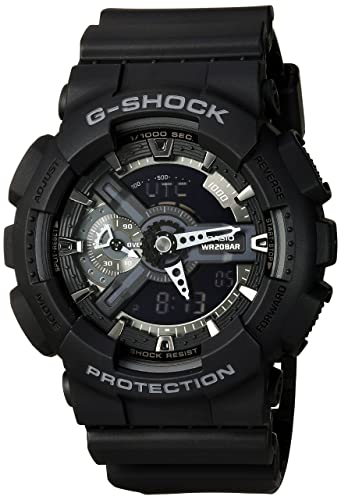 Casio G-Shock Stealth Black Watch (GA110-1B)