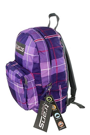 Amazon.com: Trans by Jansport Purple Maxxter Silk Royal Plaid ...