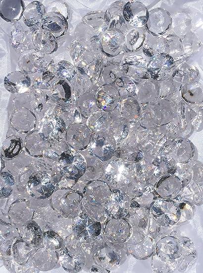 Amazon 480 Pieces 20mm Crystal Clear Acrylic Diamond Shape