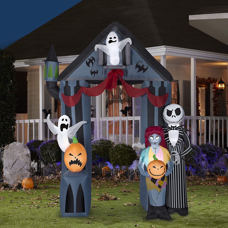 Gemmy Halloween 9 Nightmare Before Christmas Archway