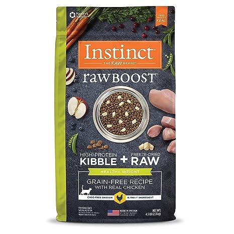 Amazon Instinct Raw Boost Healthy Weight Grain Free Recipe