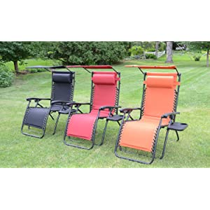 Styled Shopping Deluxe Padded Zero Gravity Chair