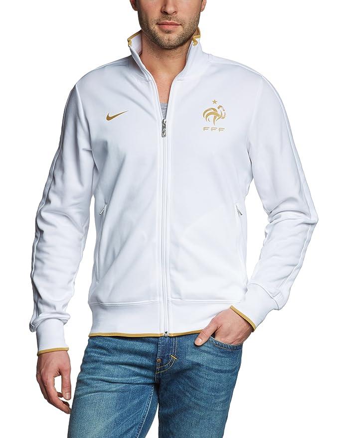 Sport Nike Blancor Pour N98 De Authentic Blanc Xx Fff Homme Veste 4nHxPF4S