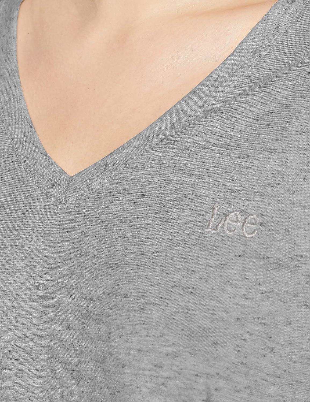 Lee V Neck Tee T-Shirt Donna