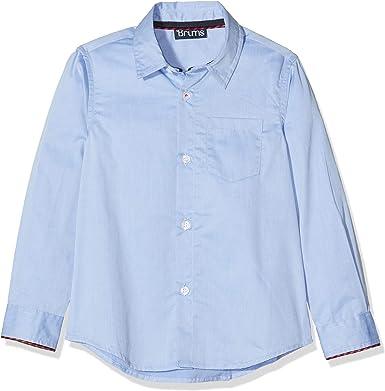Brums Camicia Micro Twill con Piping Camisa para Niños ...