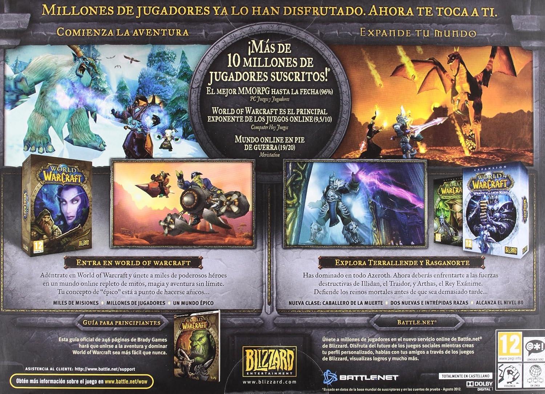 World of Warcraft: Battle Chest: Amazon.es: Videojuegos