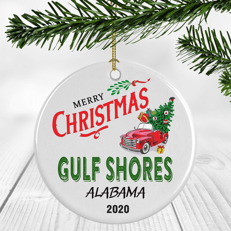 Alabama State Magnet Natural Wood Keepsake Decoration Holiday Gift Home Party Favor