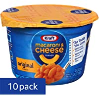 10-Pack Kraft Easy Mac & Cheese Microwavable Cups, 2.05oz