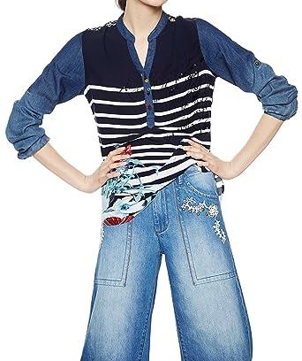 Blus 18swbw07 Femme Judith Desigual Chemisier Vêtements HxFxn1