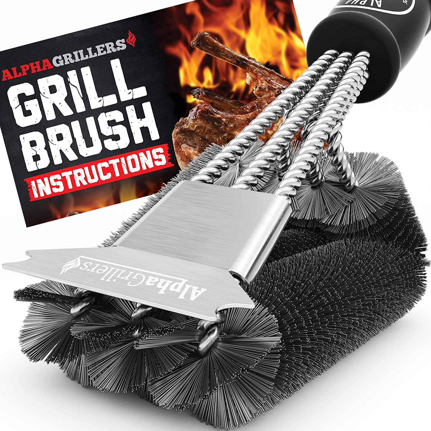 Alpha Grillers Grill Brush Review