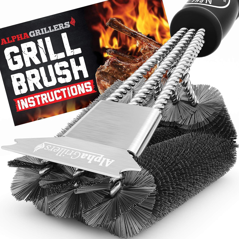 Alpha Grillers Grill Brush and Scraper