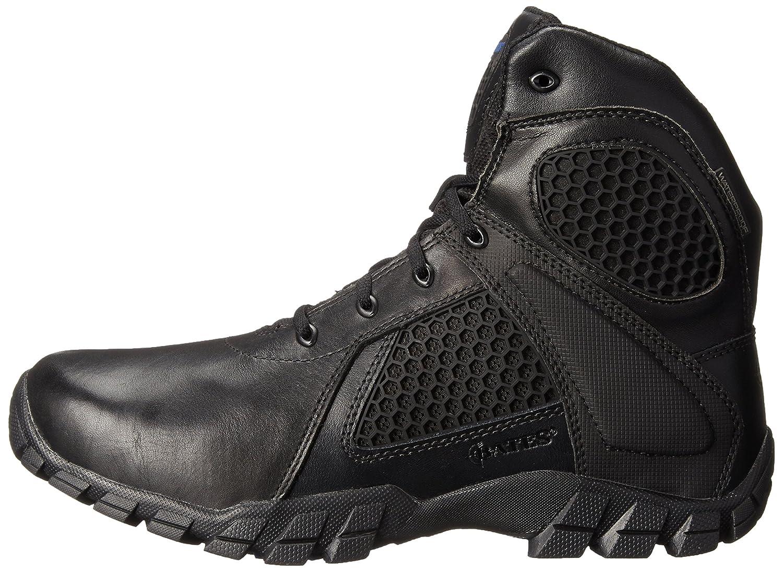 Bates Mens 6 Inch Strike Side Zip Waterproof Tactical Boot