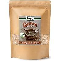 Biojoy BIO-Quinoa Samen weiß | 100% naturbelassene BIO-Qualität | weißes Inka-Korn & Superfood | wertvolle pflanzliche Eiweißquelle | reich an Aminosäuren & glutenfrei| (Chenopodium quinoa) (1 kg)