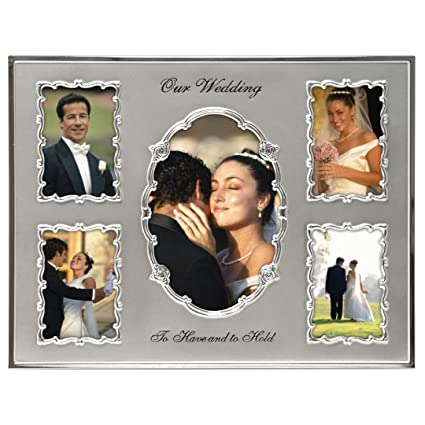Amazon.com - Malden International Designs Our Wedding Two Tone ...