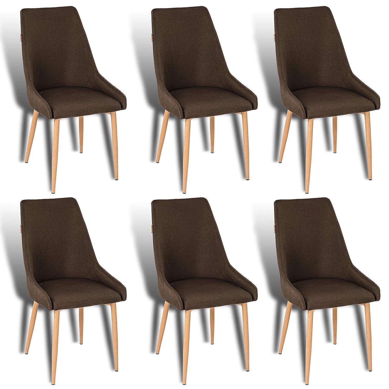 Stoffbezug Estexo Stühle Retro 2 Küchenstühle Chrtqsd Esszimmerstühle zMVUGqSp