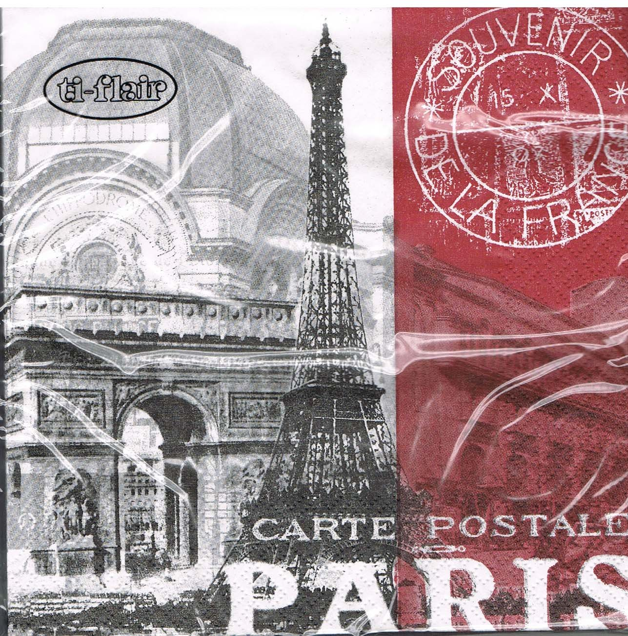 Paris Servietten Global City ti-flair Frankreich // Stadt