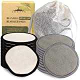 Reusable Makeup Remover Pads - 20 PACK With Laundry Bag - SOFT NYC Designed Reusable Cotton Pads For Face Pads - Washable Bam