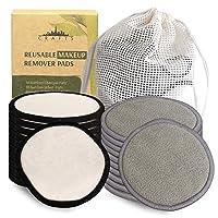 Reusable Makeup Remover Pads - Reusable Cotton Rounds for Face - Reusable Face Pads...