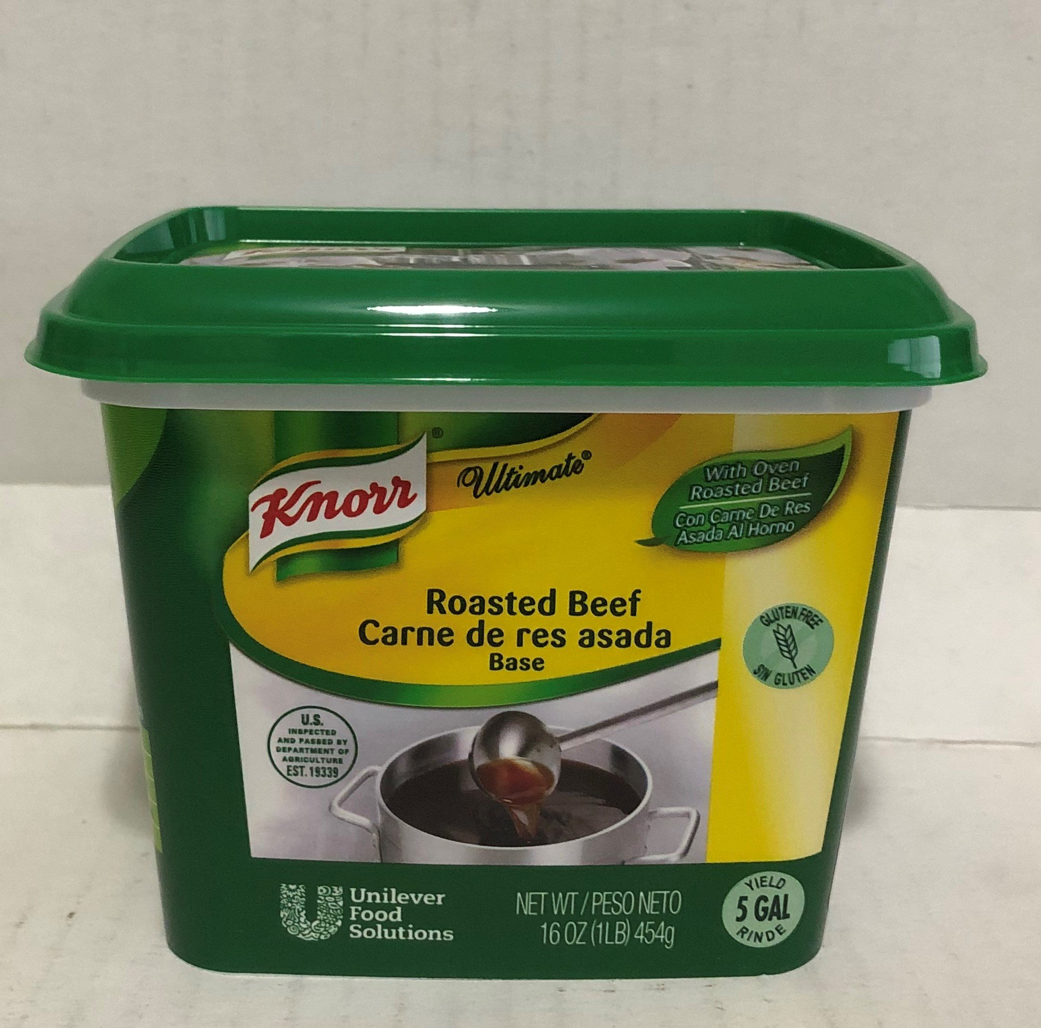 Knorr Ultimate Roasted Beef Base 16 oz.