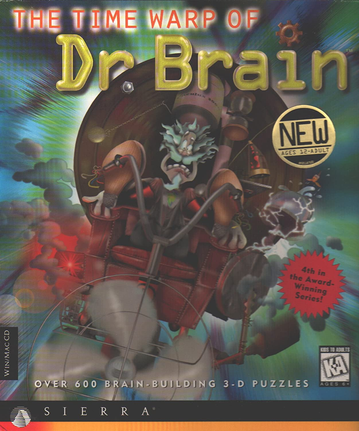 The Time Warp of Dr Brain 4 (輸入版) B00082ZVZO Parent