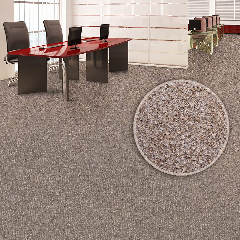 wasserabweisend Viele Farben /& Gr/ö/ßen 200x200 cm, braun GUT-Siegel Emissions- /& geruchsfrei Floori/® Nadelfilz Teppich