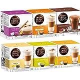 Nescafé Dolce Gusto Sweet Dreams Set, Kaffee, Kaffeekapsel, 6 x 16 Kapseln