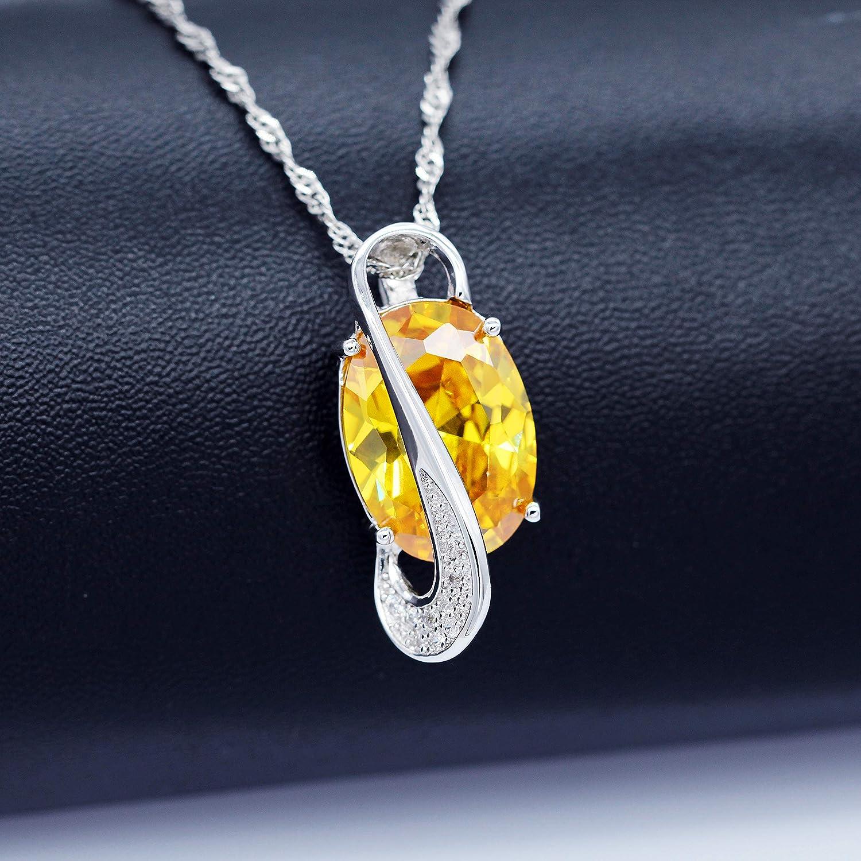 Uloveido Conjunto de joyer/ía de Moda para Mujer Aniversario Boda Infinito Colgante Collar Pendientes y Anillo Conjunto de joyer/ía T472