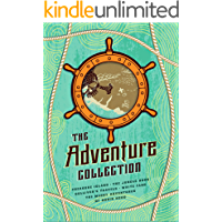 The Adventure Collection: Treasure Island, The Jungle Book, Gulliver's Travels, White Fang, The Merry Adventures of…