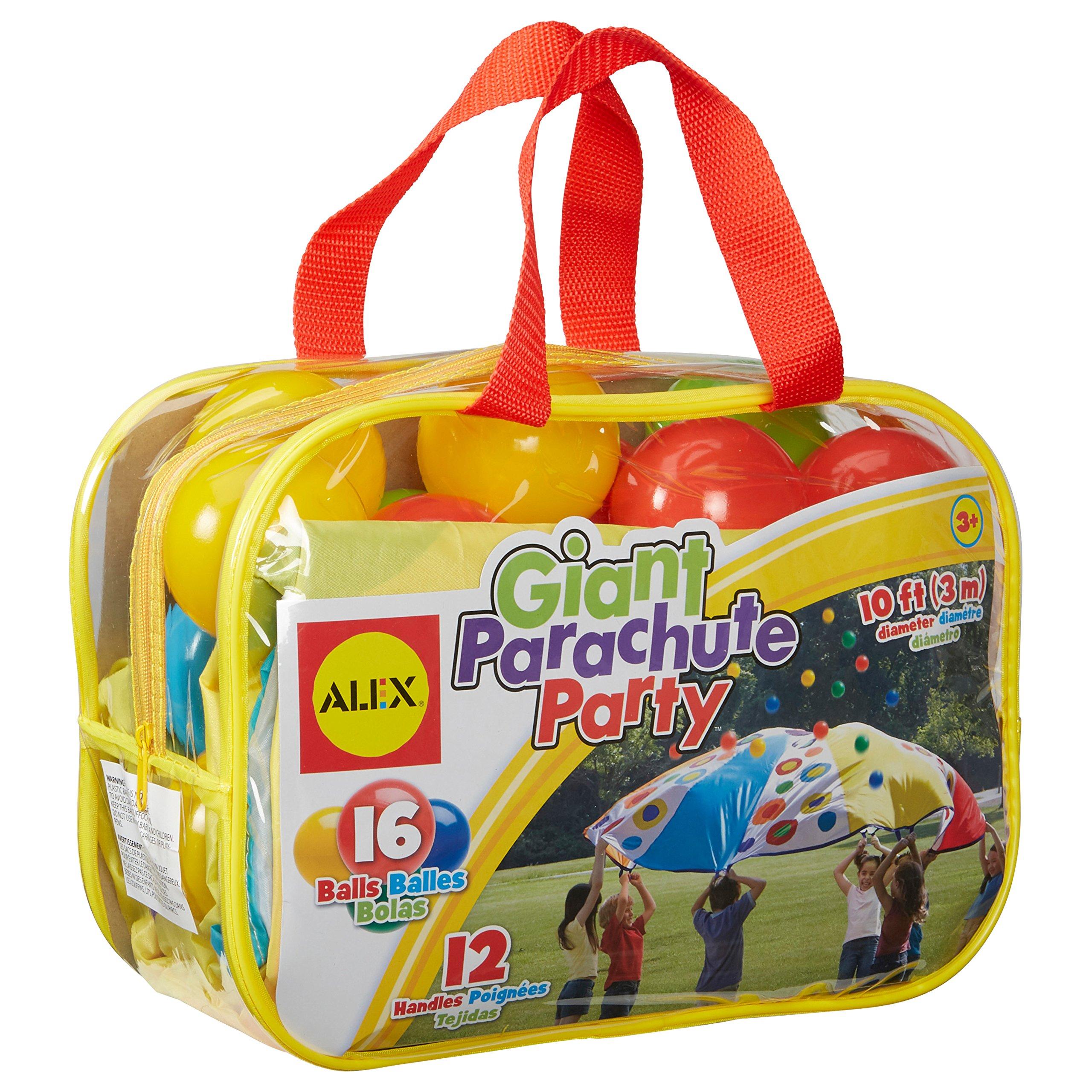 ALEX Toys Active Play Giant Parachute Party