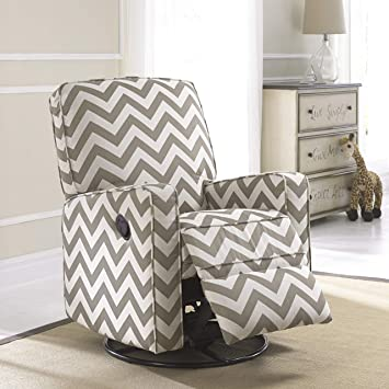 Terrific Amazon Com Modern Chevron Striped Taupe And Cream Nursery Gmtry Best Dining Table And Chair Ideas Images Gmtryco