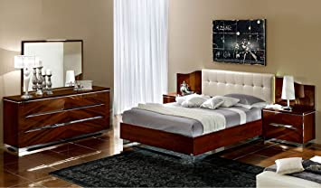 Beautiful Italian Modern Contemporary King Size Bed Matrix Bedroom Set By CamelGroup,  Italy